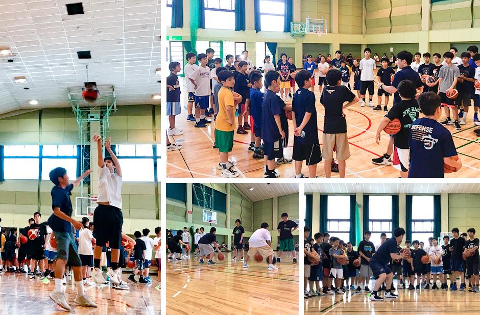 中学生対象バスケットボールキャンプ