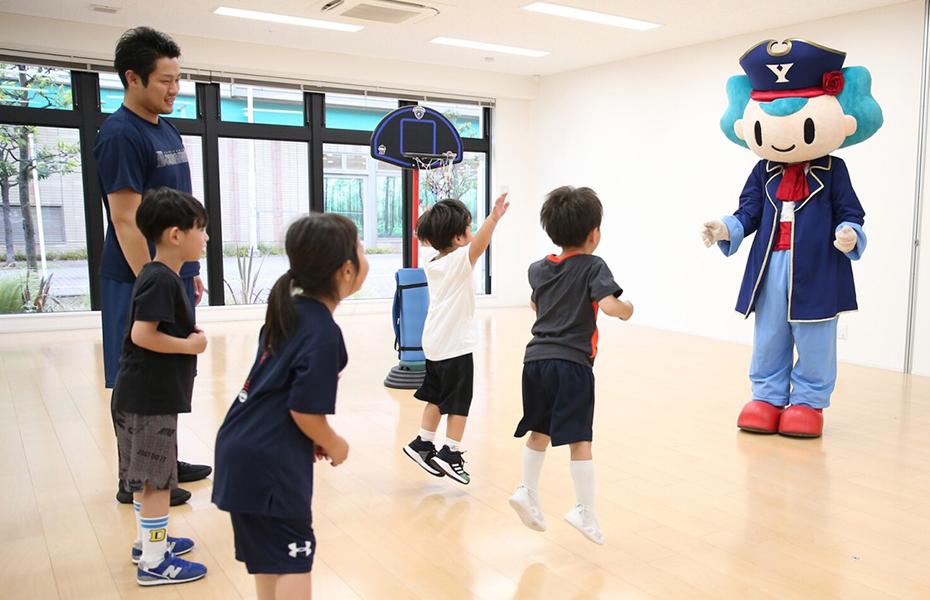 幼児バスケットボールクリニック
