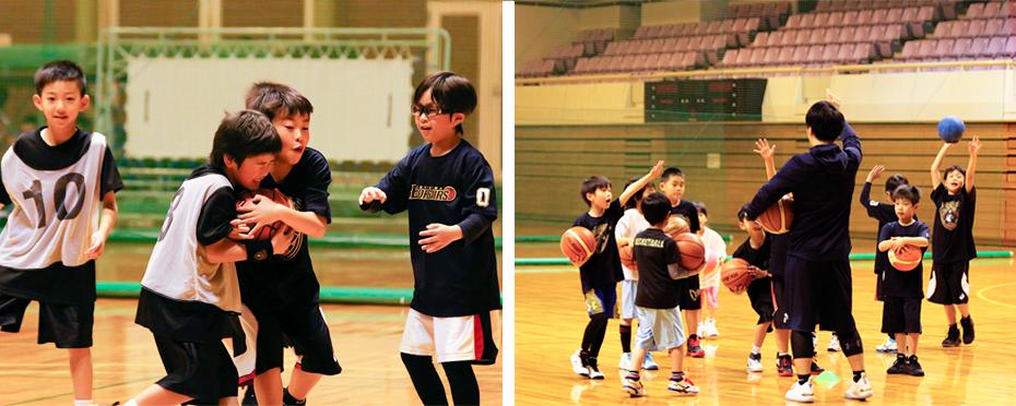 低学年バスケットボールクリニック
