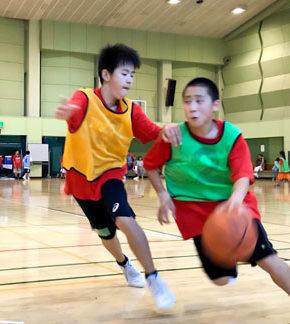 相模原バスケットボール1DAYキャンプ