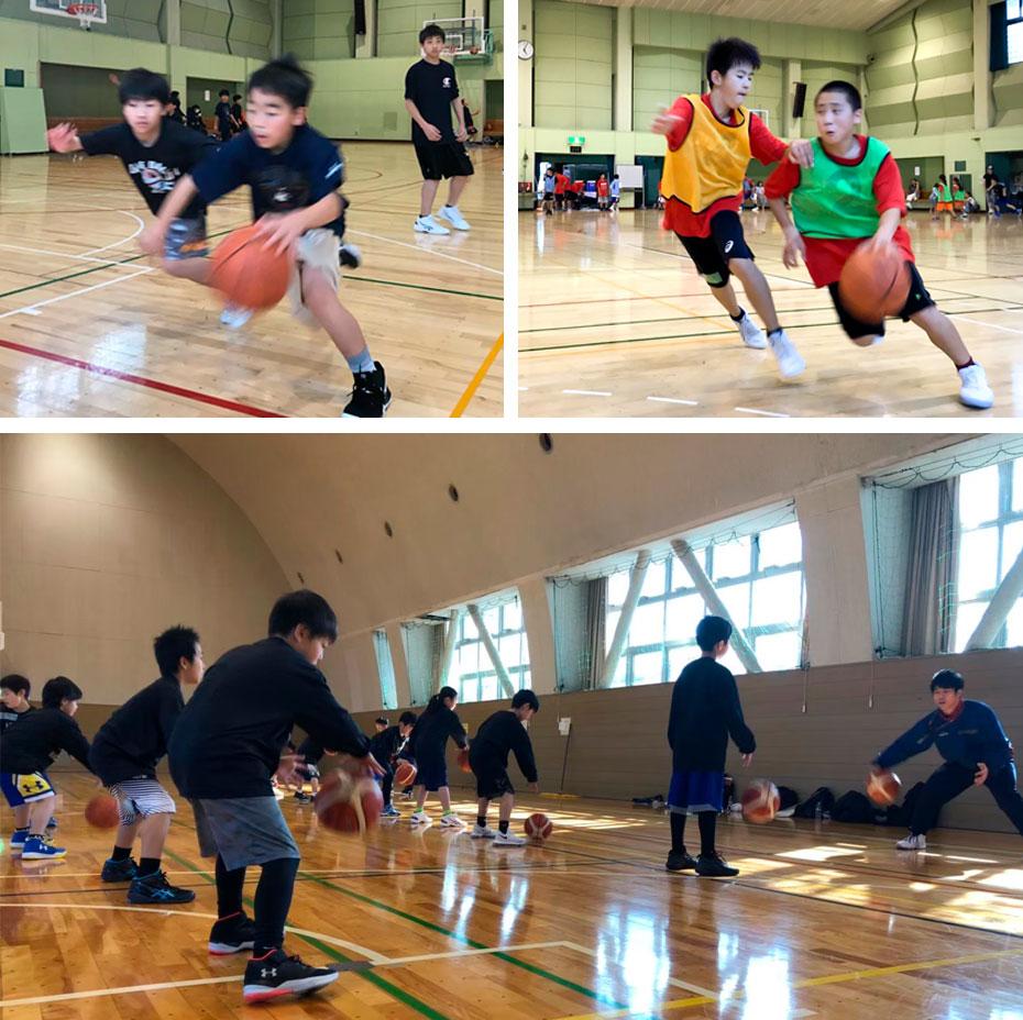 バスケットボール1DAYキャンプのイメージ