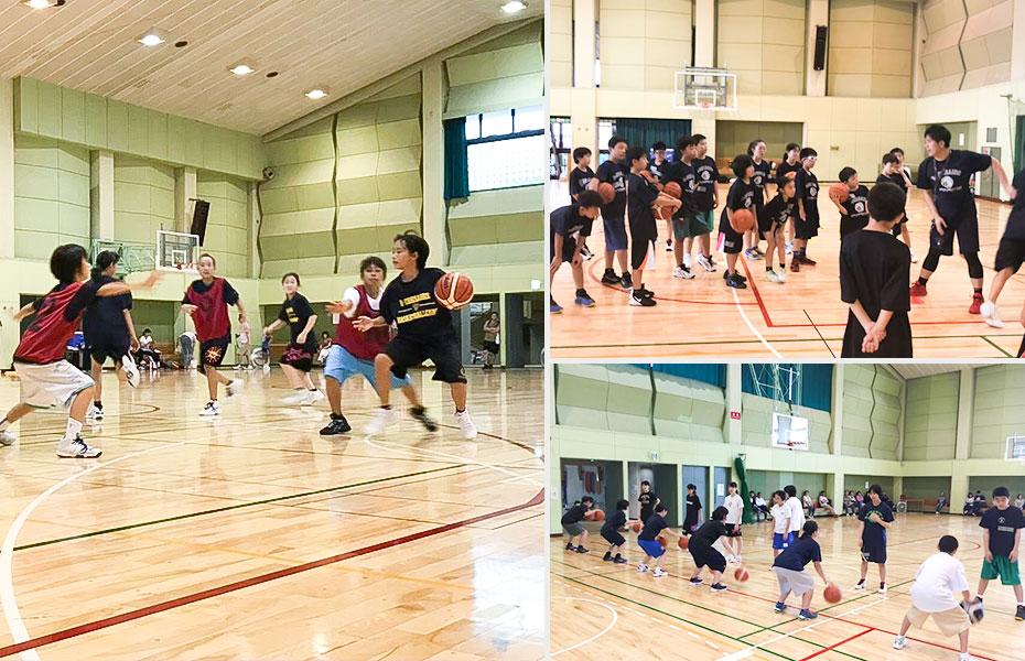 初心者向けバスケットボールキャンプ