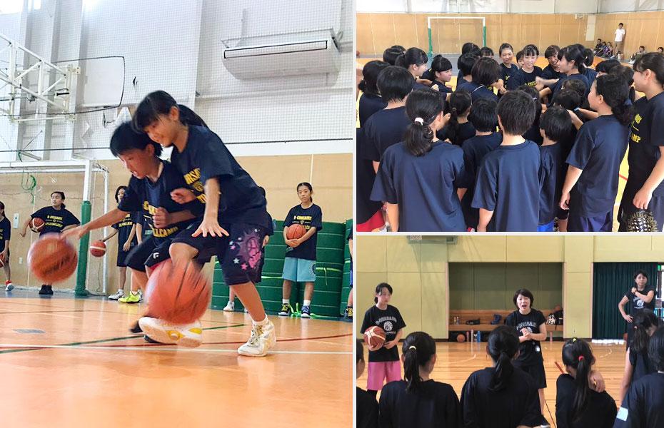 女子限定バスケットボールキャンプ
